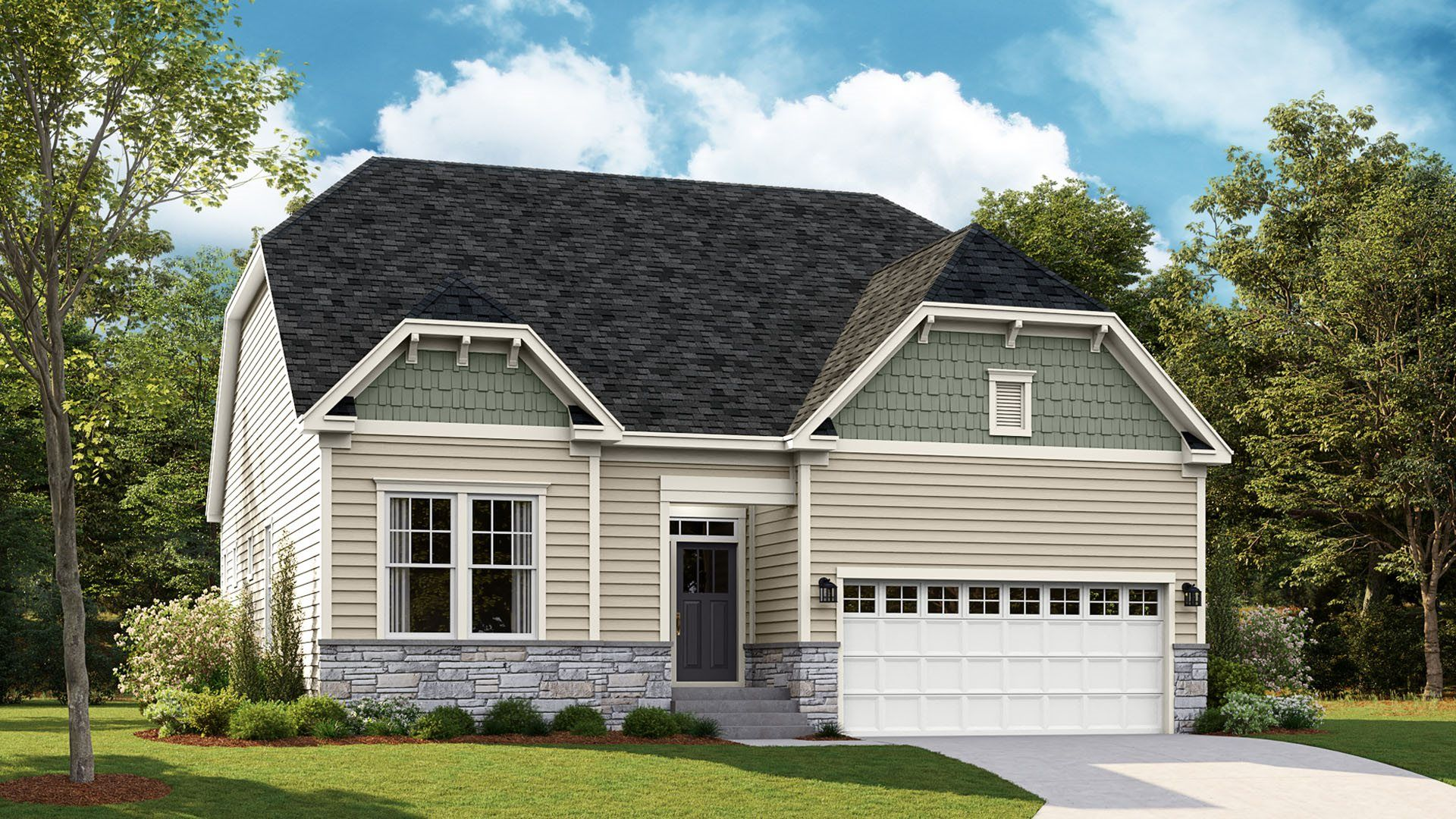Exterior featured in the Newport By Lennar in Sussex, DE