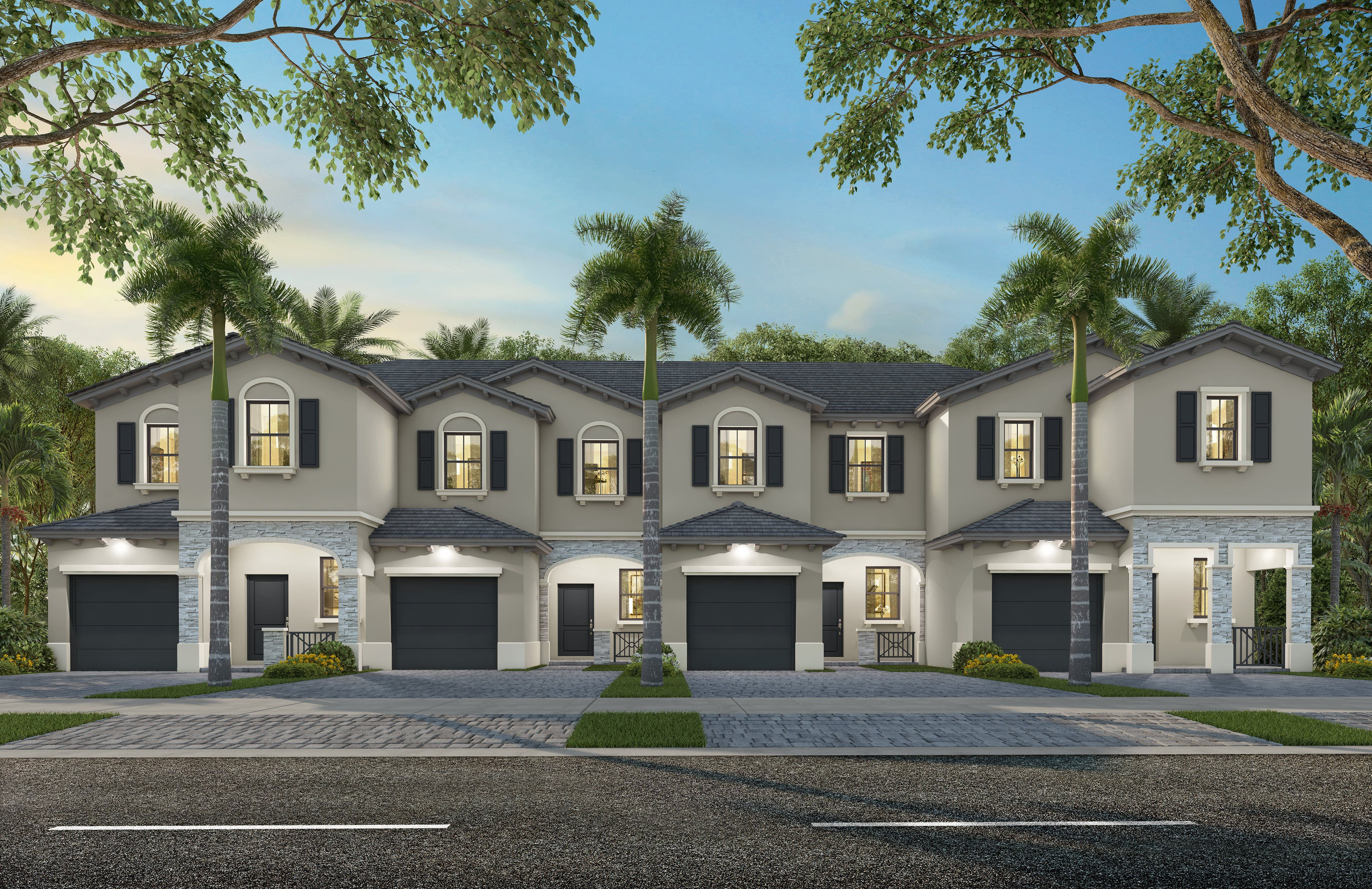 Exterior featured in the Bordeaux By Lennar in Miami-Dade County, FL