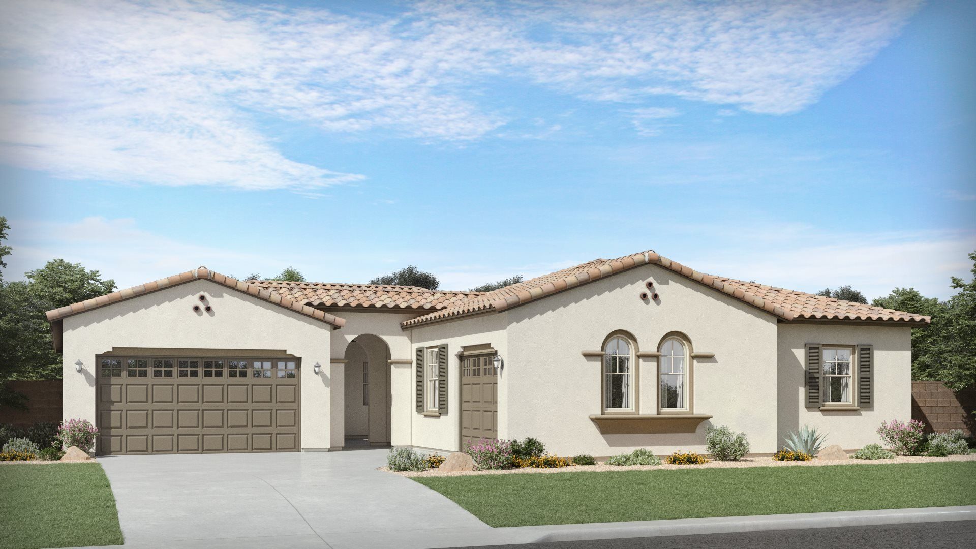 Exterior featured in the Allison Plan 6588 By Lennar in Phoenix-Mesa, AZ