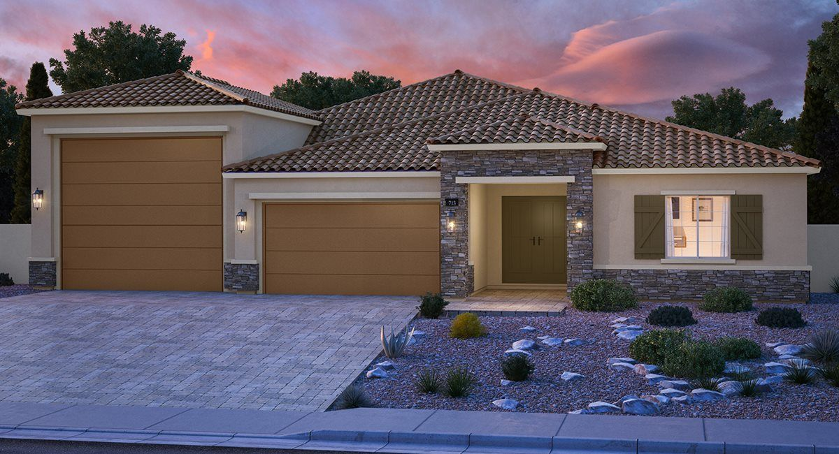 Exterior featured in the Harrison By Lennar in Las Vegas, NV