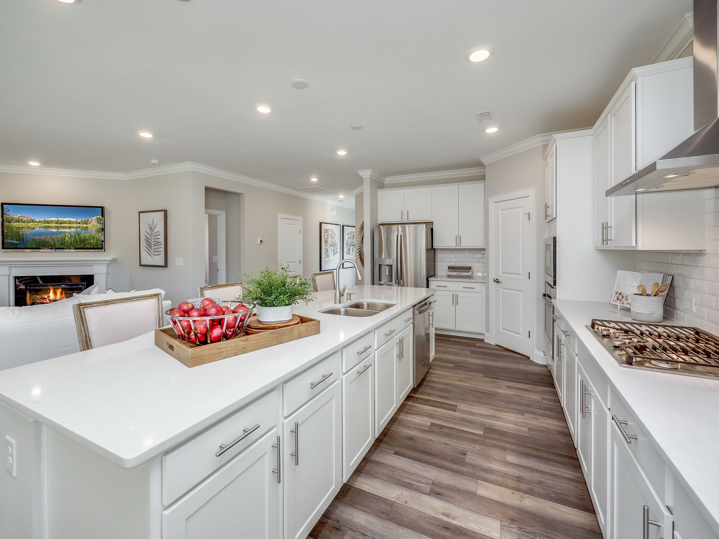 Kitchen featured in the Dover II By Lennar in Raleigh-Durham-Chapel Hill, NC