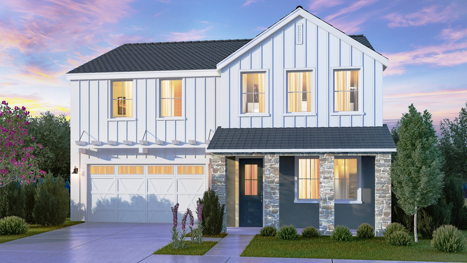 Exterior featured in the Overture By Lennar in Visalia, CA