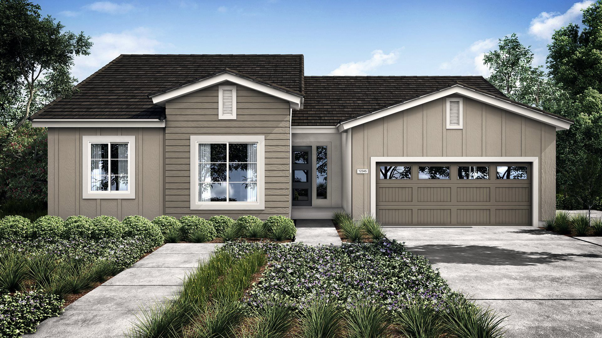 Exterior featured in the Moonlight By Lennar in Visalia, CA