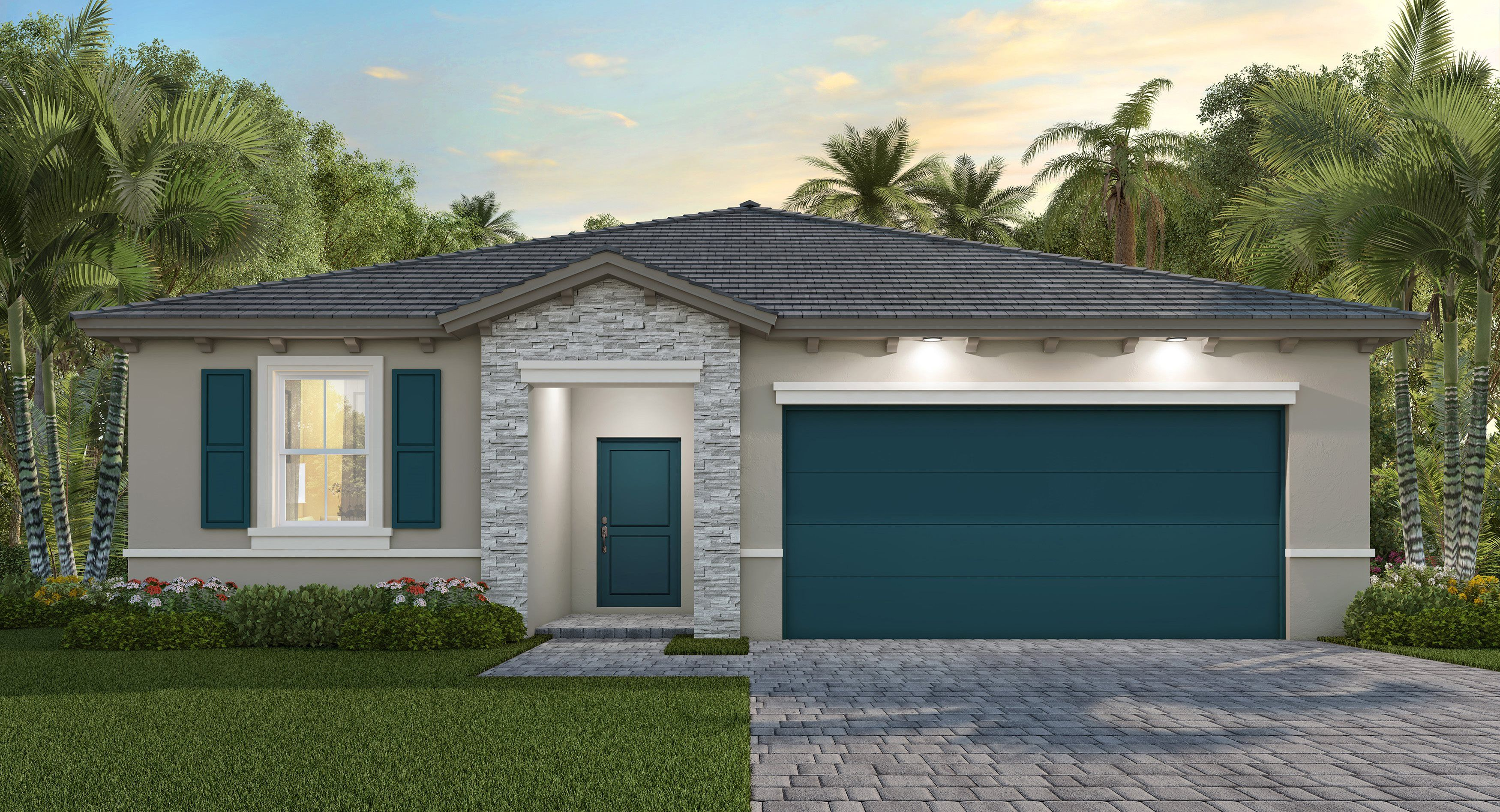 Exterior featured in the Argento By Lennar in Miami-Dade County, FL