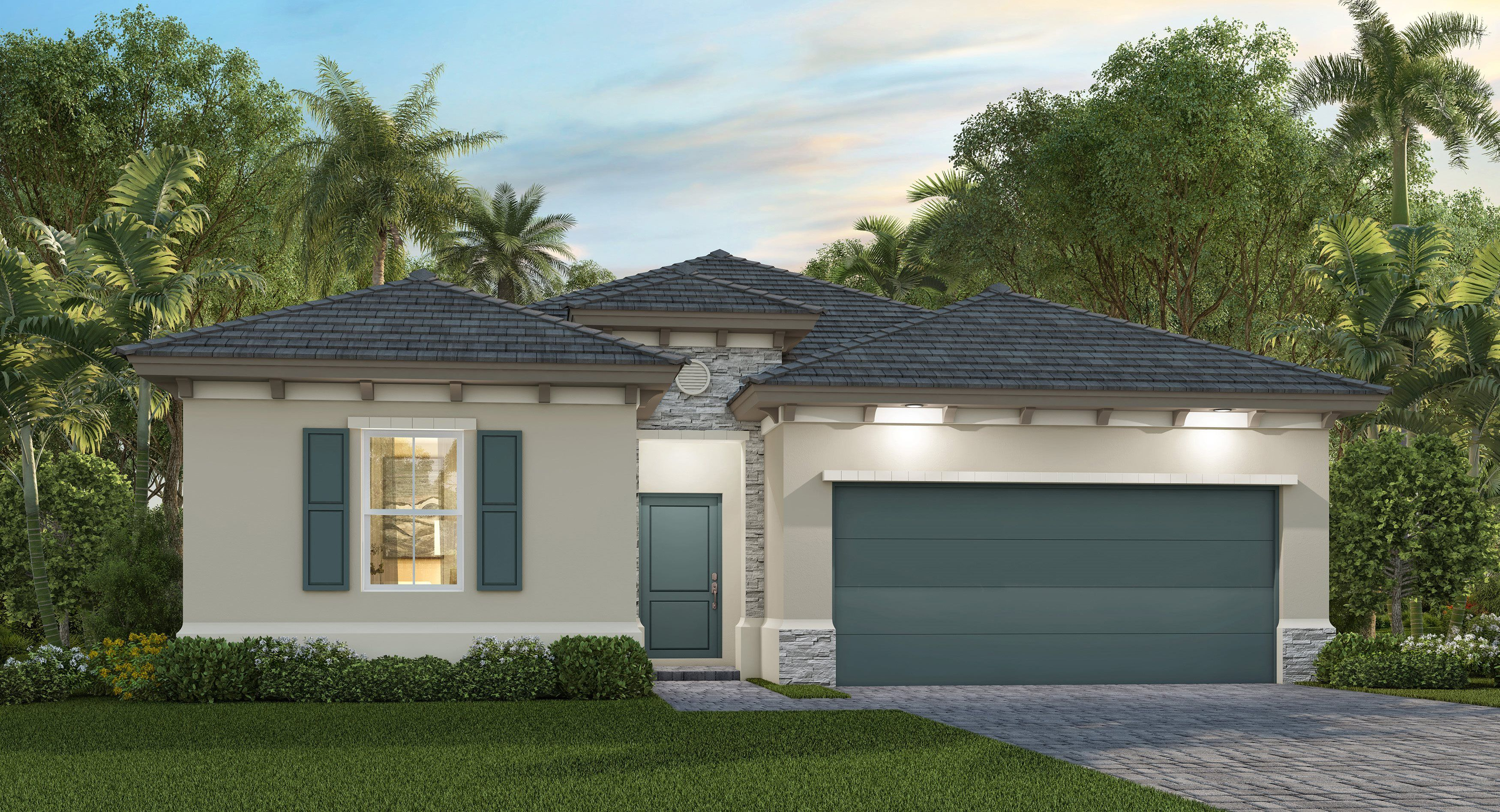 Exterior featured in the Centuri By Lennar in Miami-Dade County, FL