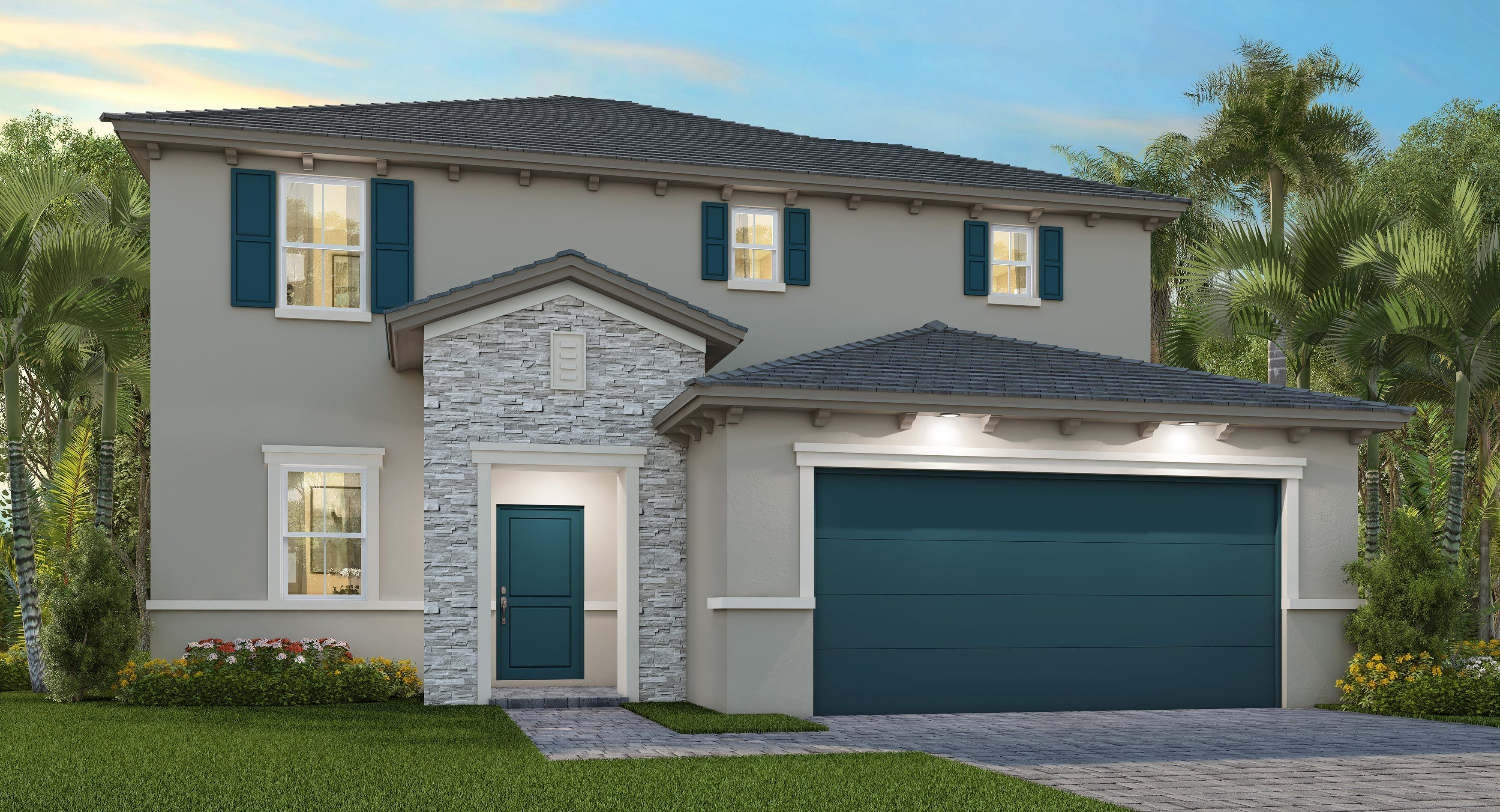 Exterior featured in the Florent By Lennar in Miami-Dade County, FL