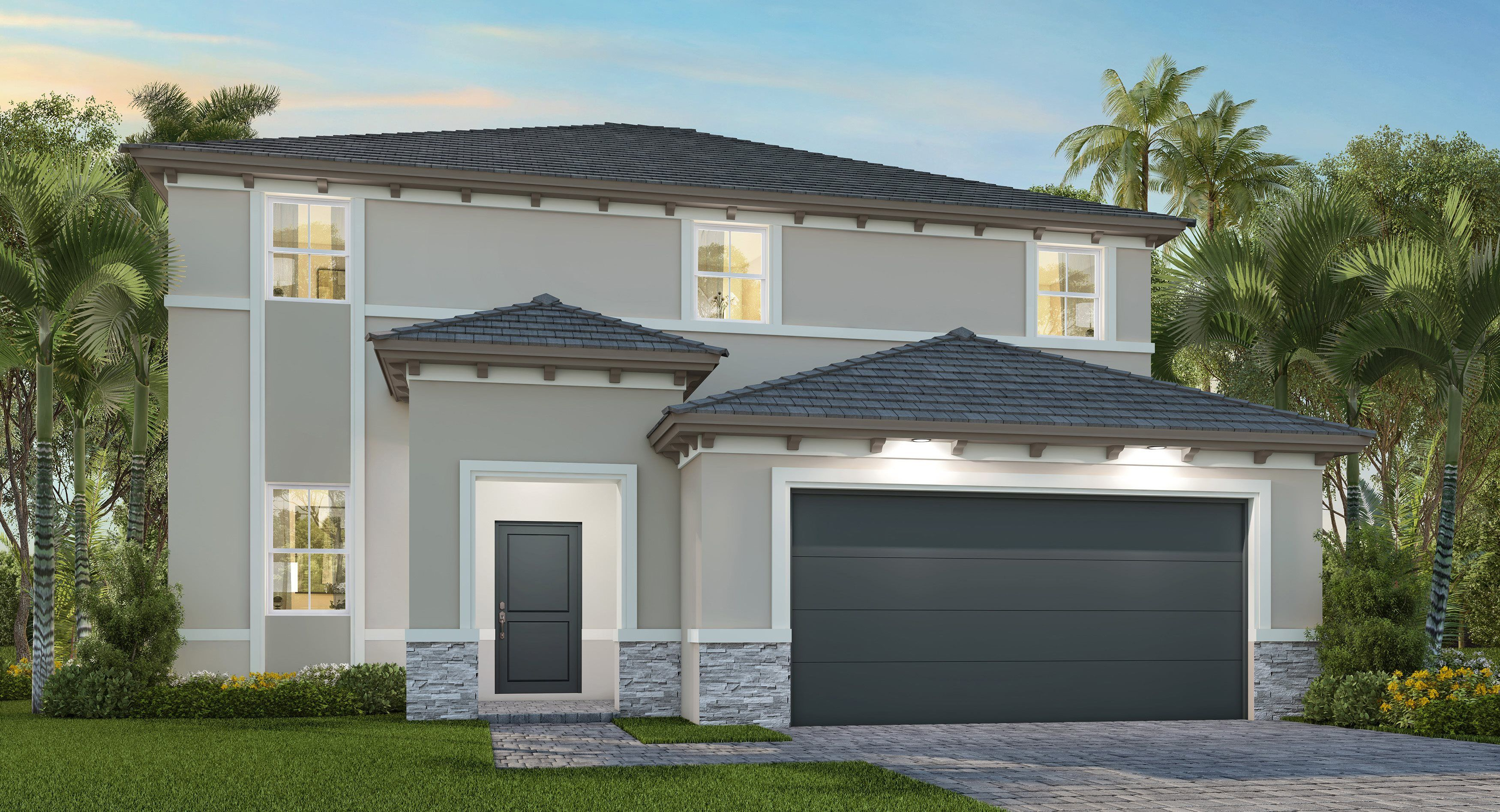 Exterior featured in the Olmeto By Lennar in Miami-Dade County, FL