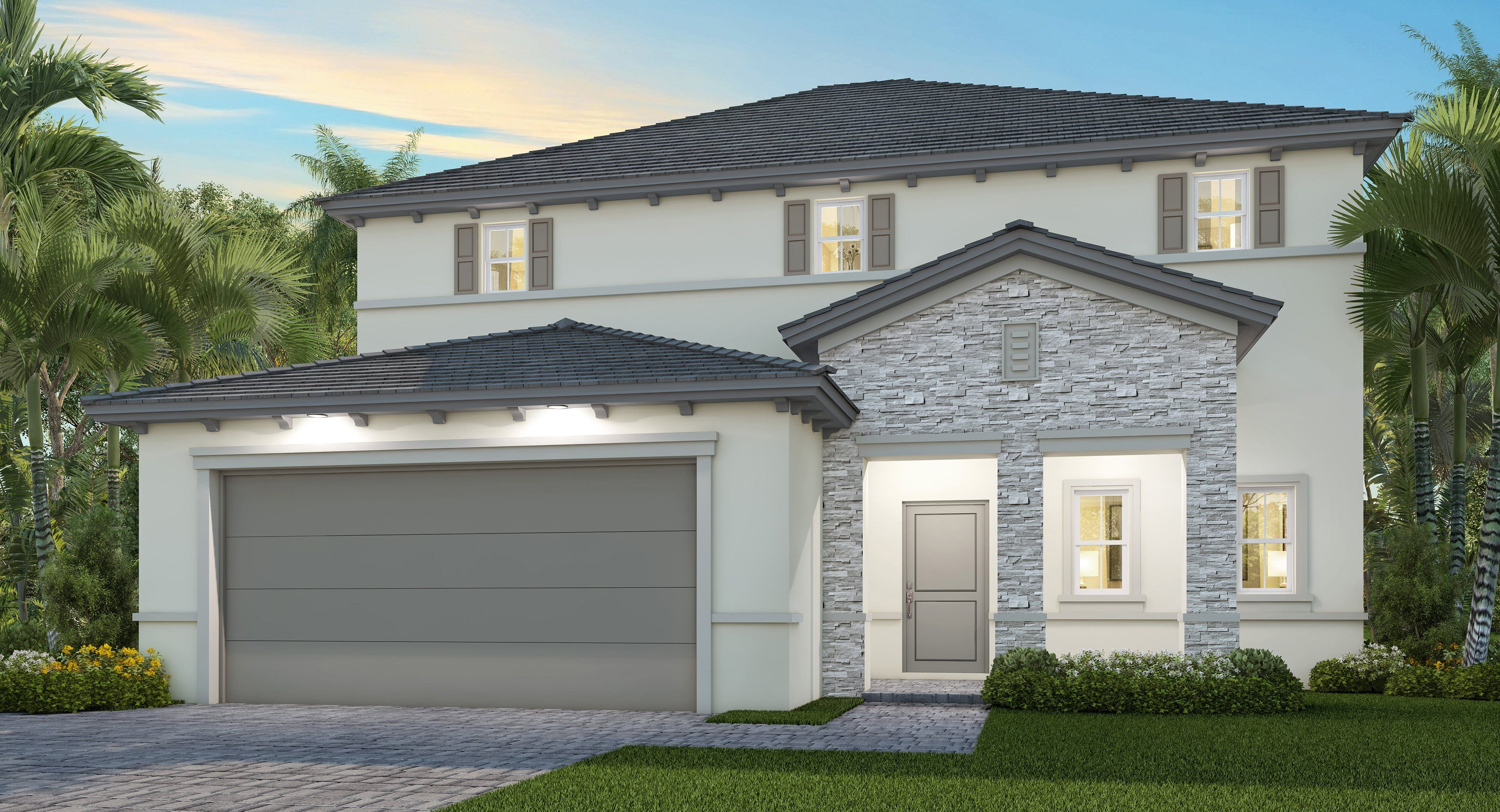 Exterior featured in the Piani By Lennar in Miami-Dade County, FL