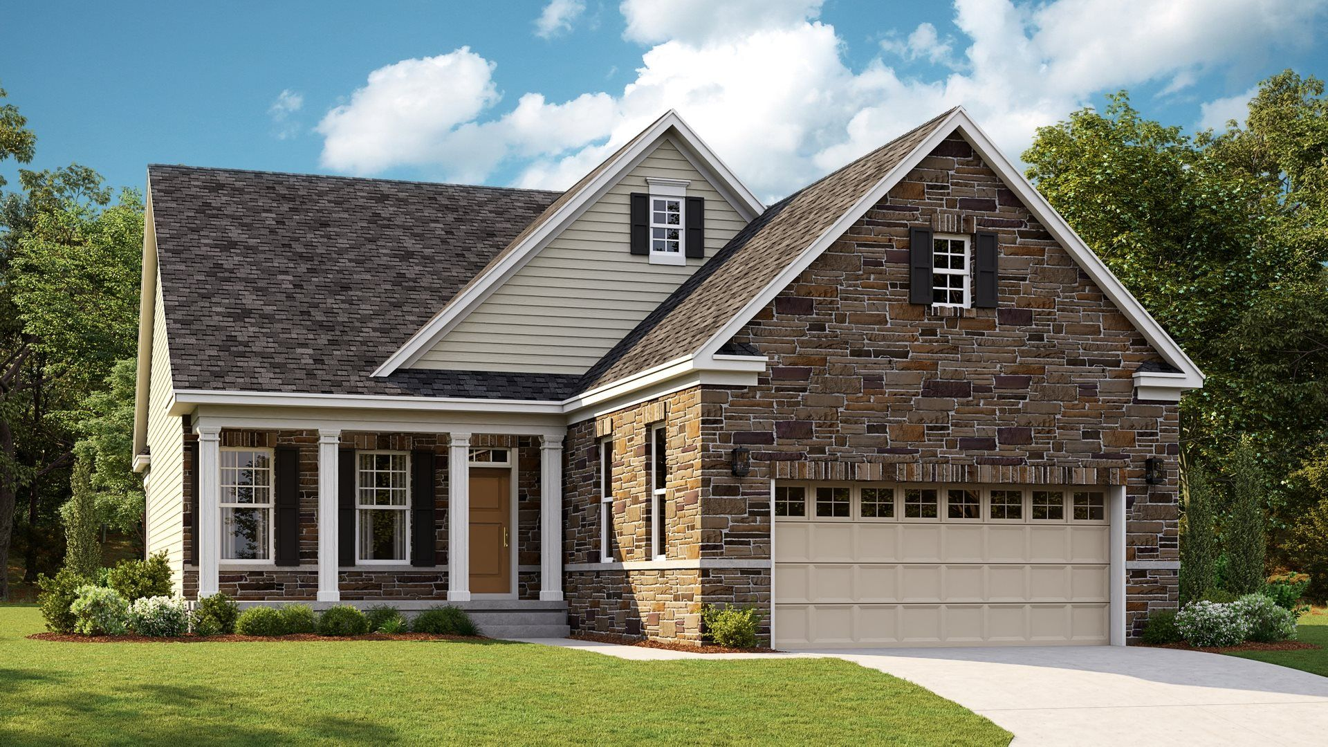 Exterior featured in the JAMES SLAB By Lennar in Norfolk-Newport News, VA