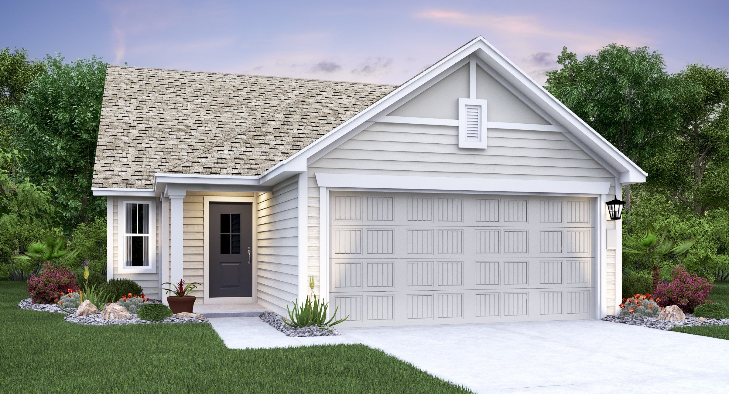 Exterior featured in the Fernbrook By Lennar in Austin, TX