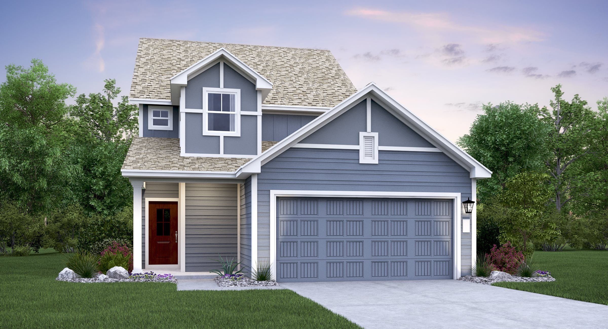 Exterior featured in the Winsdale By Lennar in Austin, TX