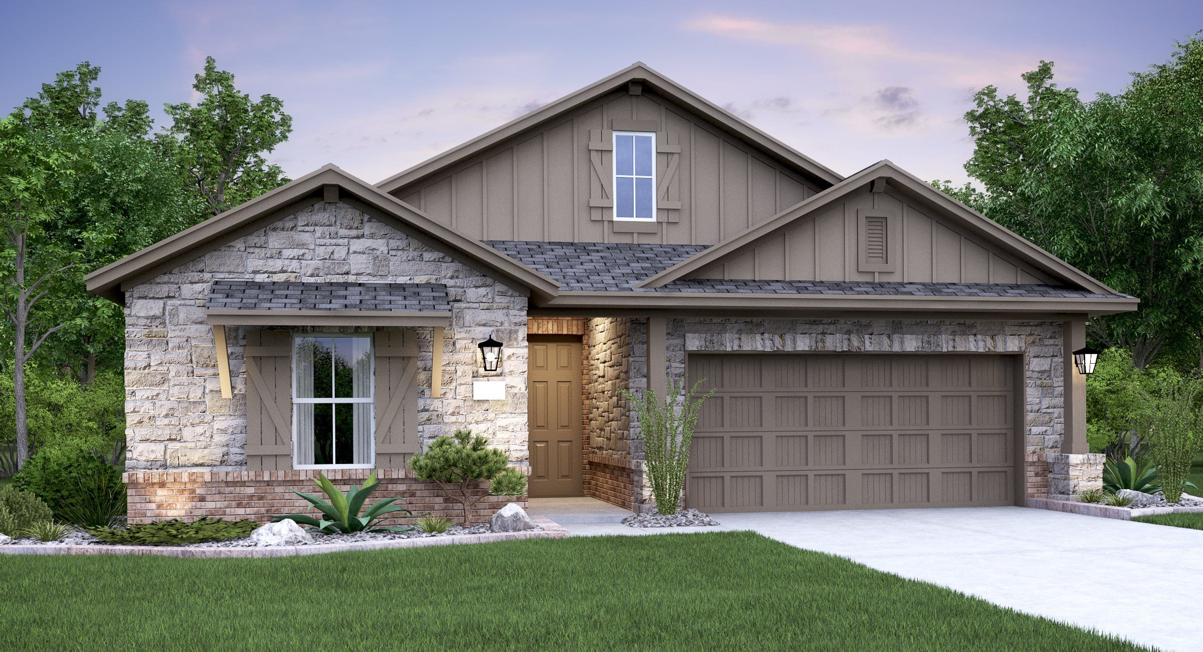 Exterior featured in the Decker By Lennar in Austin, TX