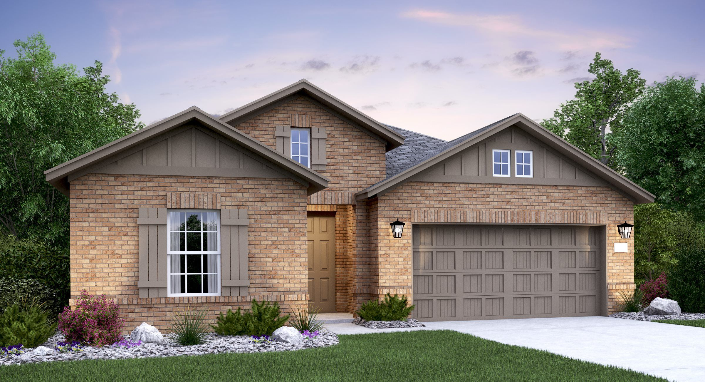 Exterior featured in the Afton By Lennar in Austin, TX
