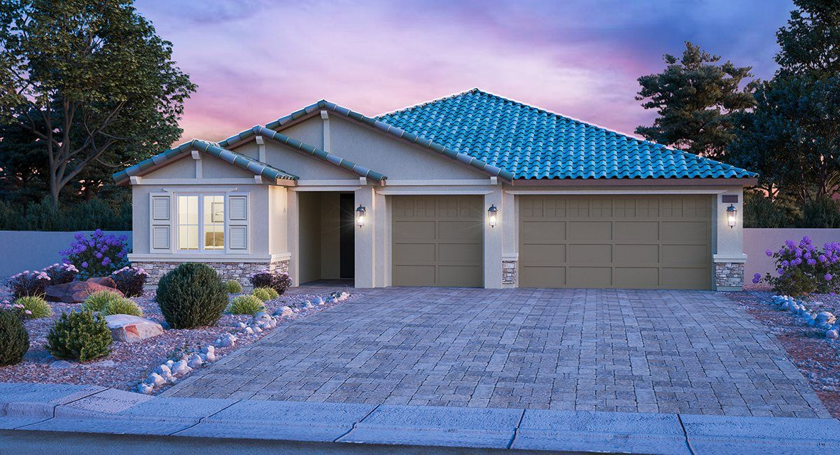Exterior featured in the Pioneer By Lennar in Las Vegas, NV