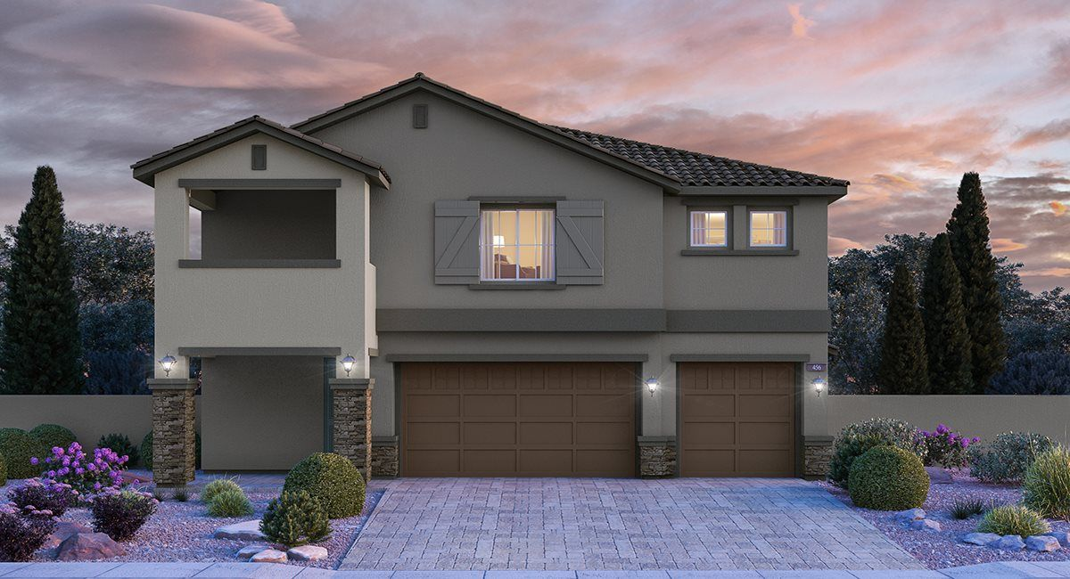 Exterior featured in the Liberty By Lennar in Las Vegas, NV