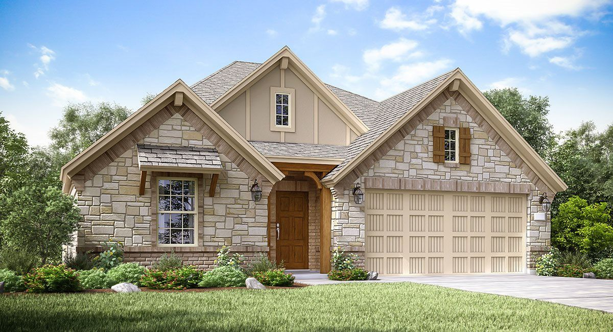 Exterior featured in the Onyx II By Lennar in Houston, TX