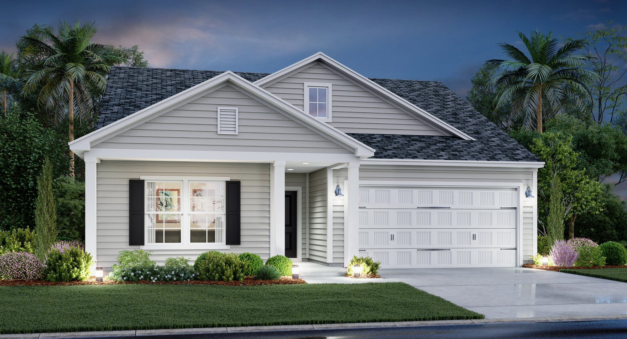 Exterior featured in the BELHAVEN II By Lennar in Myrtle Beach, SC