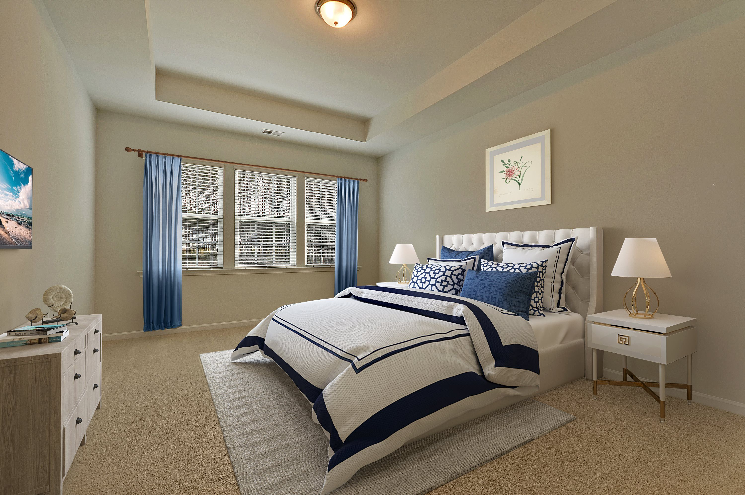 Bedroom featured in the HENNINGER By Lennar in Myrtle Beach, SC