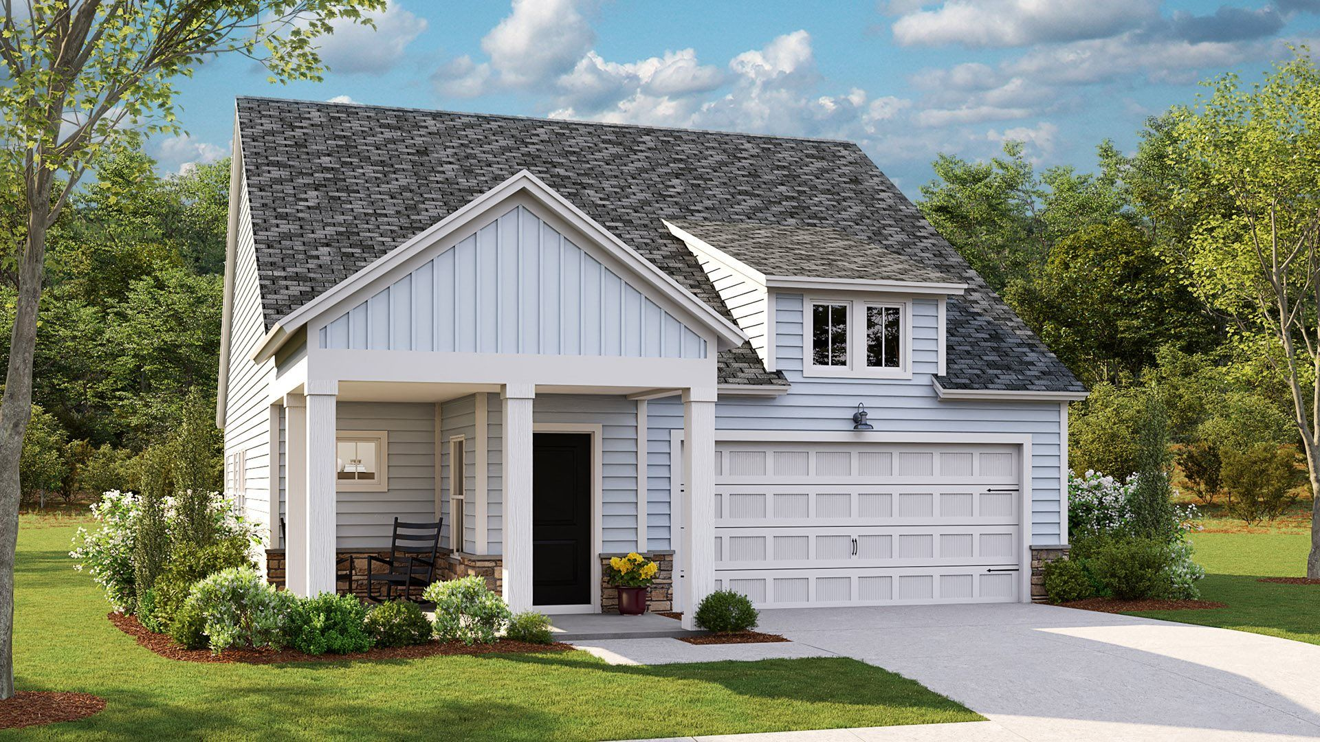 Exterior featured in the JASMINE By Lennar in Wilmington, NC
