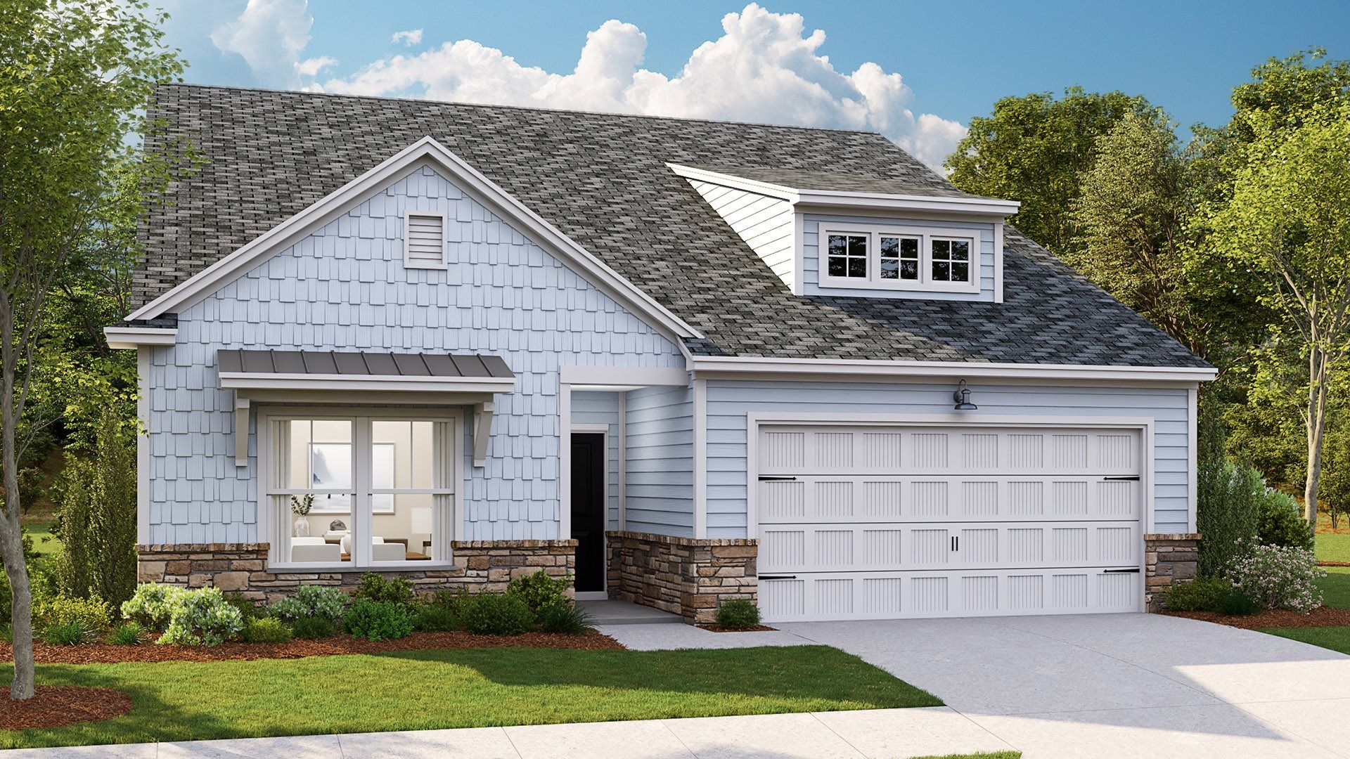 Exterior featured in the LITCHFIELD II By Lennar in Wilmington, NC