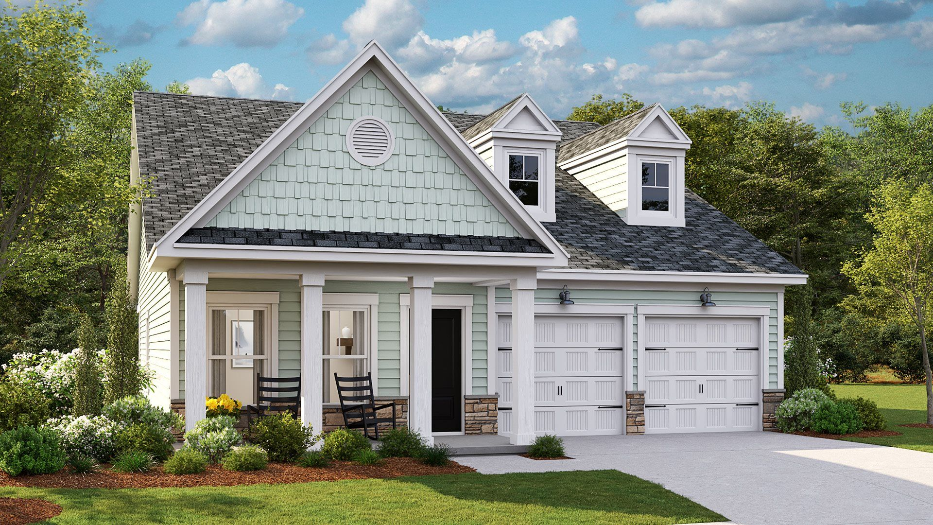 Exterior featured in the ANNANDALE By Lennar in Wilmington, NC