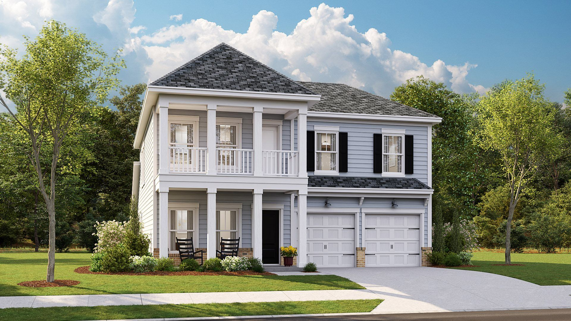 Exterior featured in the KENSINGTON By Lennar in Wilmington, NC