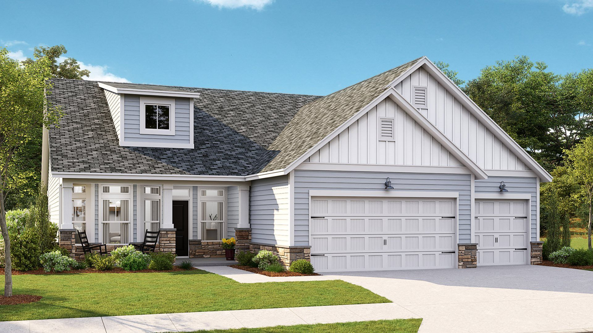 Exterior featured in the LEXINGTON By Lennar in Wilmington, NC