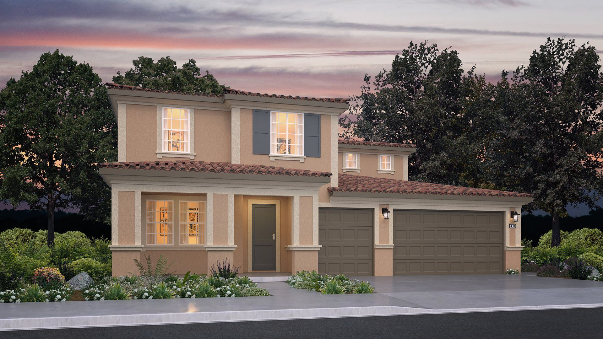 Exterior featured in the Residence Two By Lennar in Riverside-San Bernardino, CA
