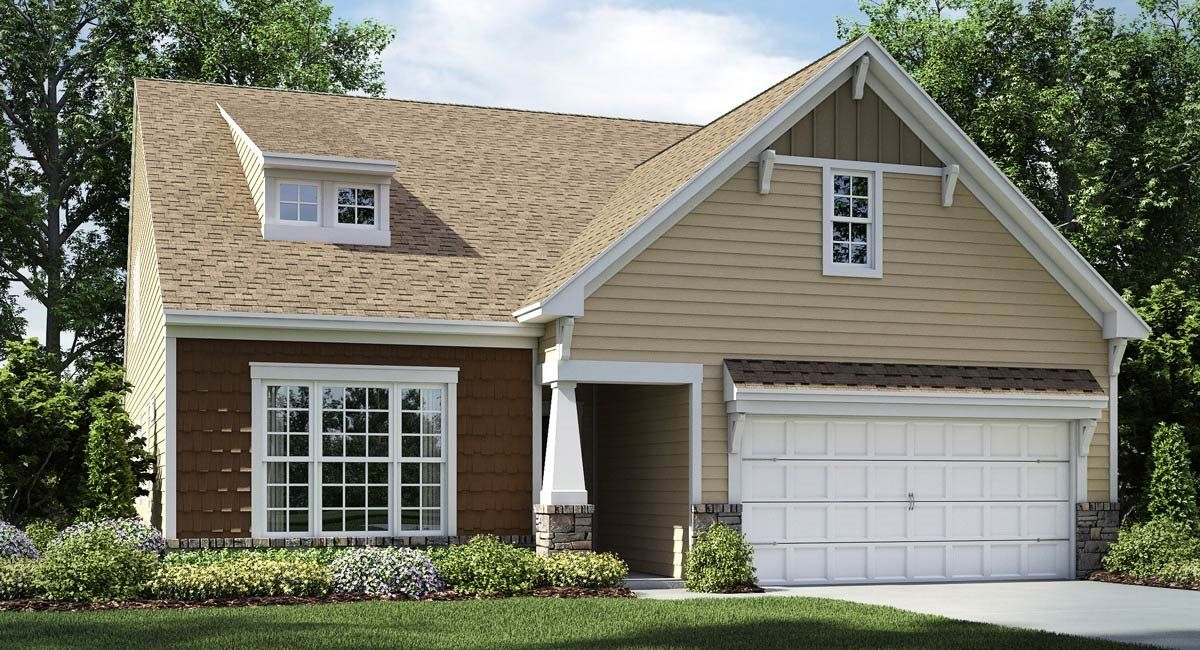 Exterior featured in the Dover By Lennar in Greenville-Spartanburg, SC