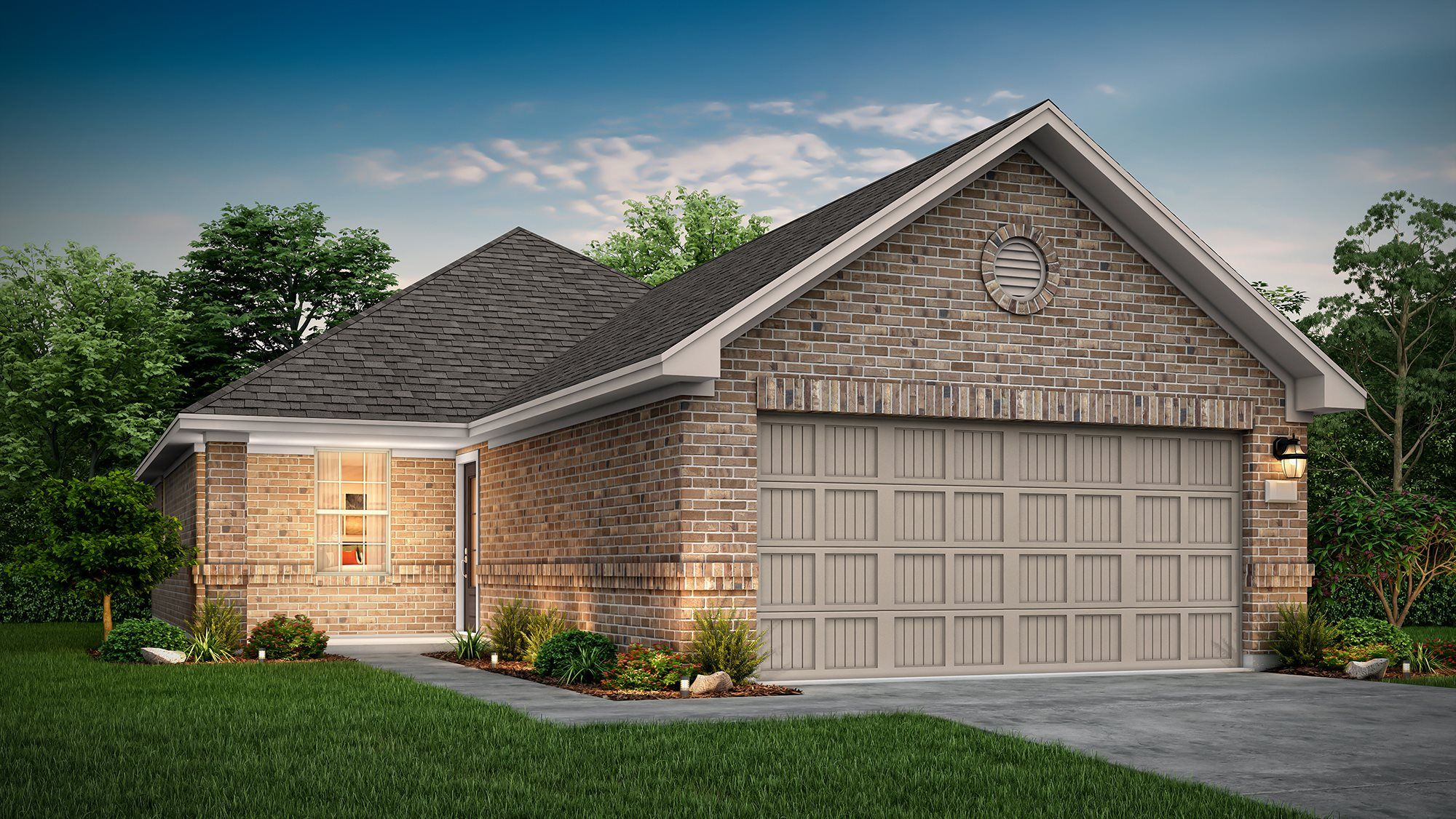 Exterior featured in the Arcola II By Lennar in Houston, TX