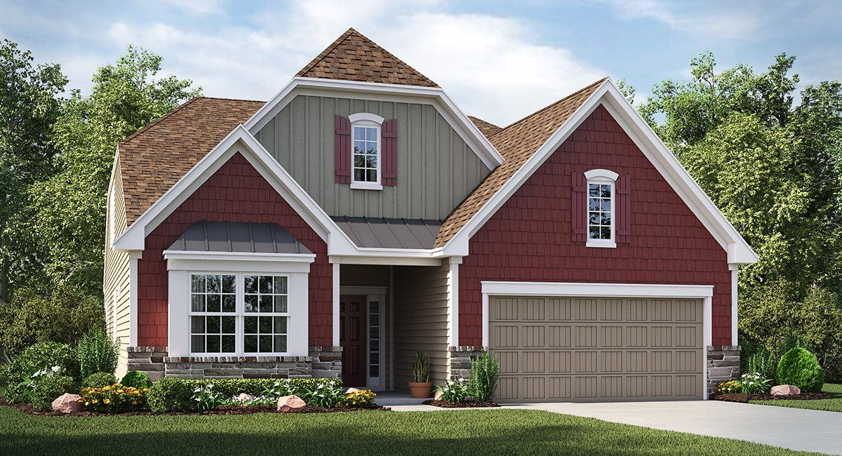 Exterior featured in the Cambridge By Lennar in Greenville-Spartanburg, SC