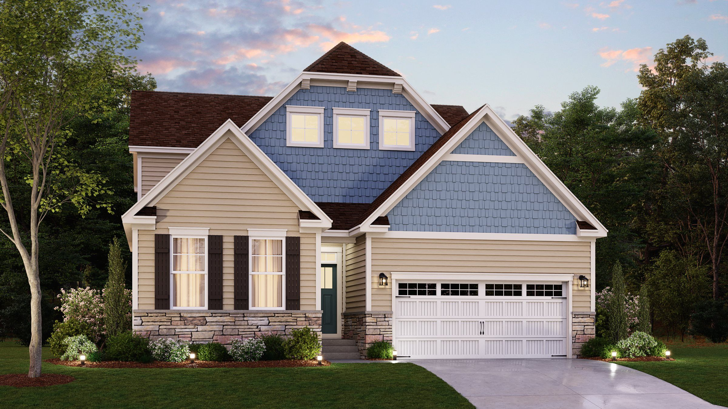 Exterior featured in the Camelot By Lennar in Sussex, DE
