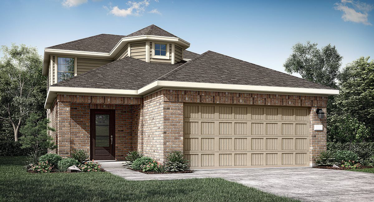 Exterior featured in the Cameron II By Lennar in Houston, TX