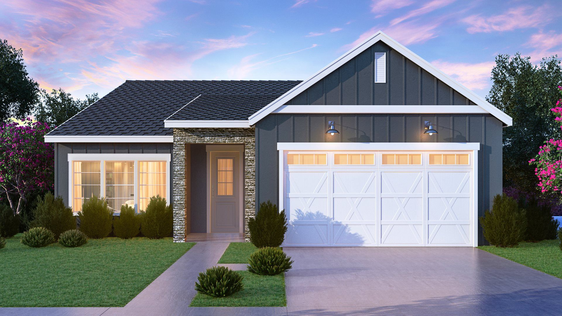 Exterior featured in the Cadence - Plan 4022 By Lennar in Fresno, CA