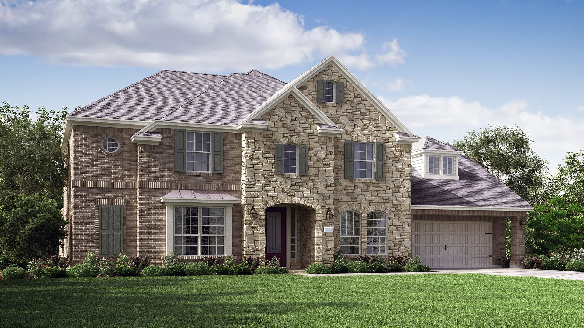Exterior featured in the Bach By Village Builders in Houston, TX
