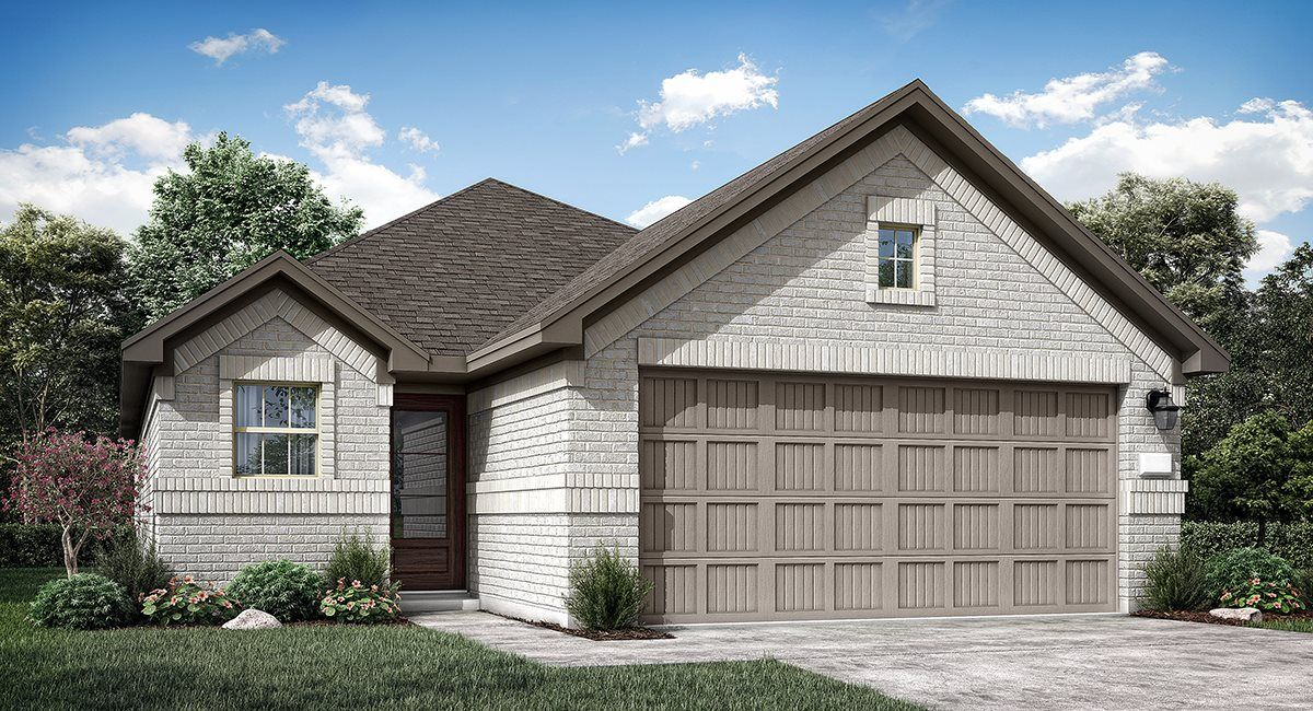 Exterior featured in the Riviera II By Lennar in Houston, TX