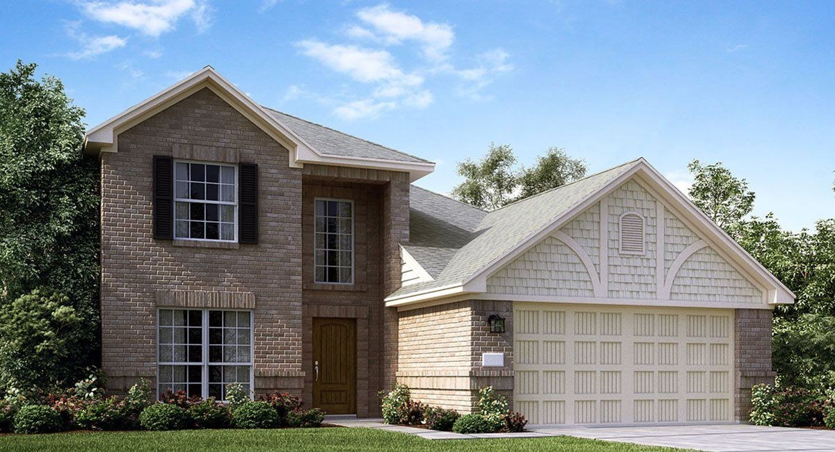 Exterior featured in the Larkspur By Lennar in Houston, TX