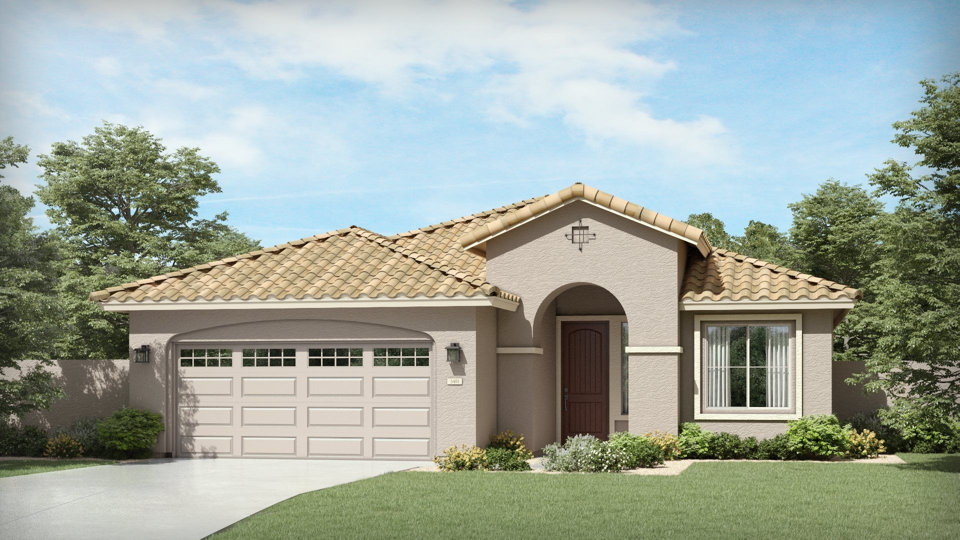 Exterior featured in the Barbosa Plan 4070 By Lennar in Phoenix-Mesa, AZ
