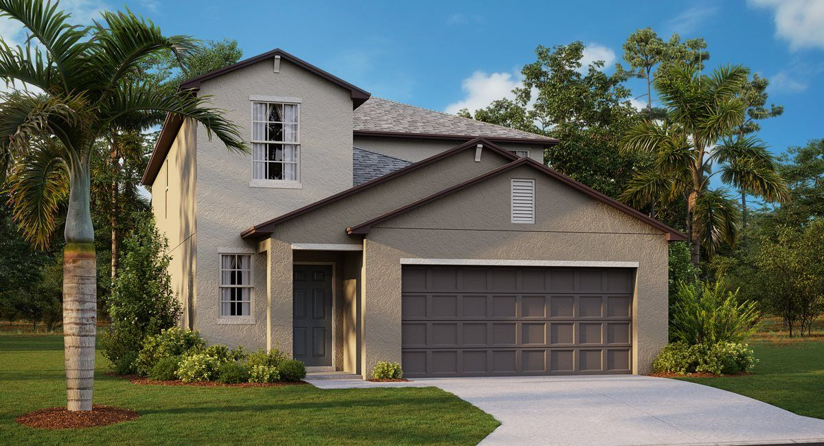 Exterior featured in the Columbia By Lennar in Tampa-St. Petersburg, FL