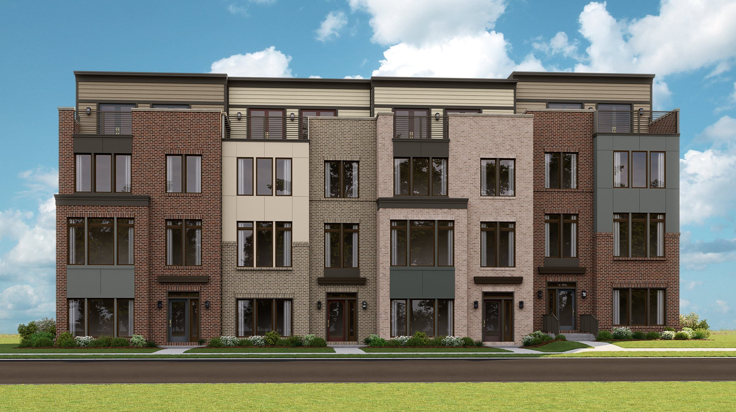 Exterior featured in the EMERSON By Lennar in Washington, VA