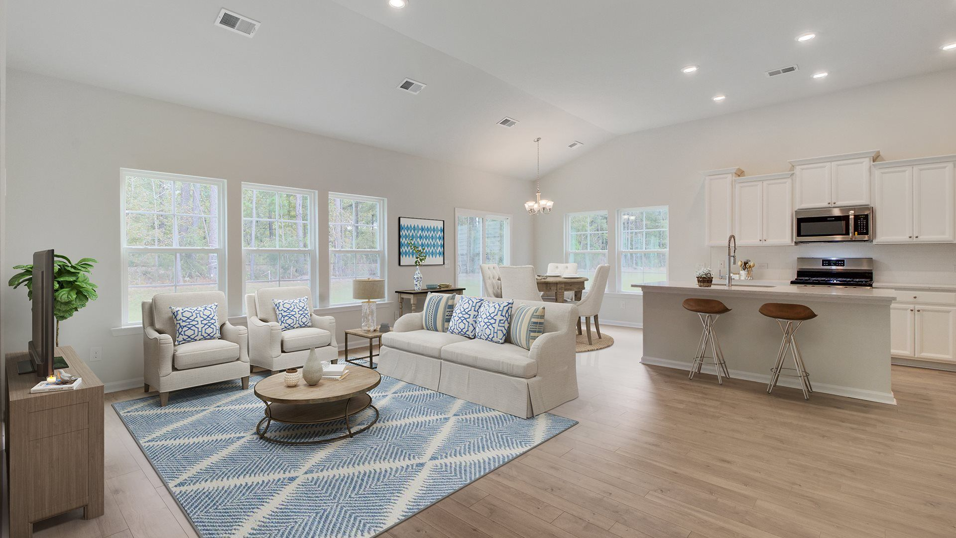 Living Area featured in the BELHAVEN II By Lennar in Myrtle Beach, SC