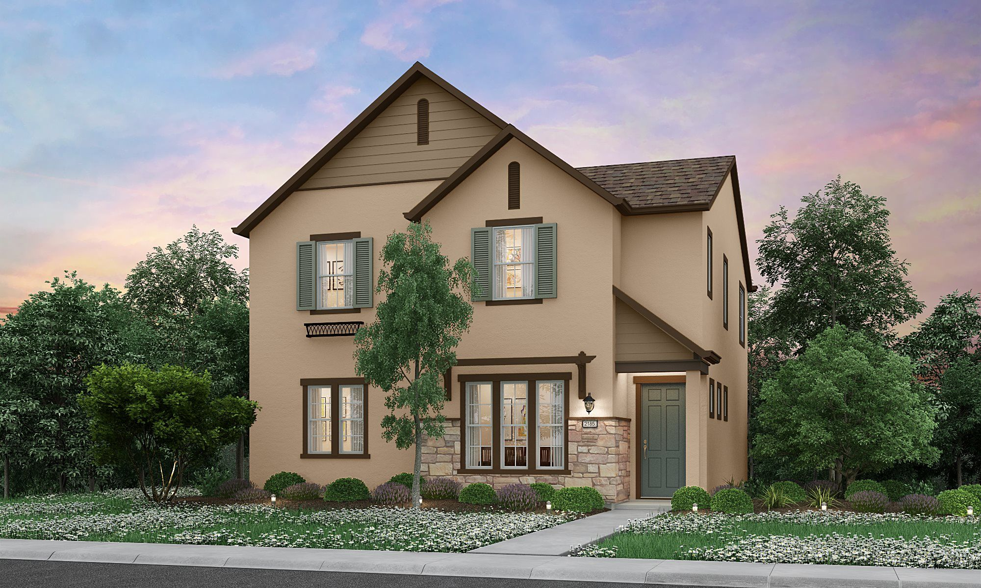 Exterior featured in the Residence 2185 By Lennar in Sacramento, CA