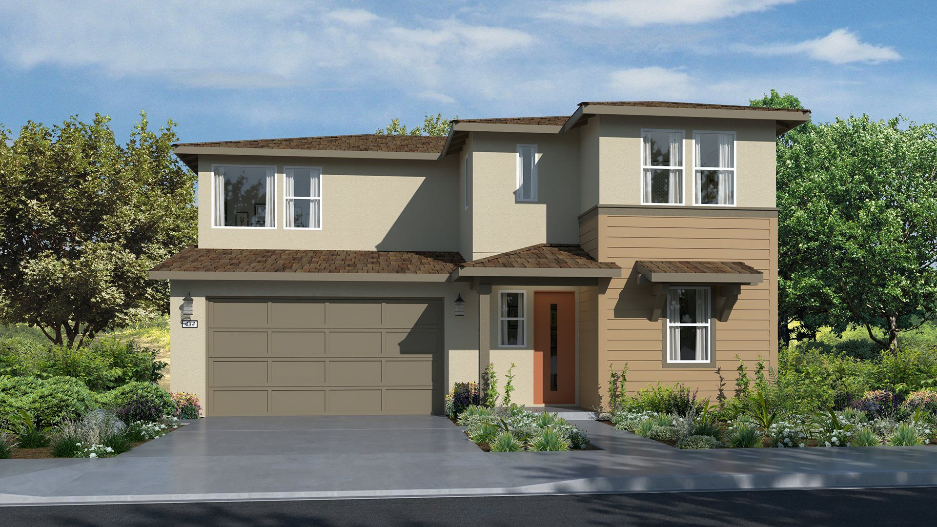 Exterior featured in the Residence 2704 By Lennar in Sacramento, CA