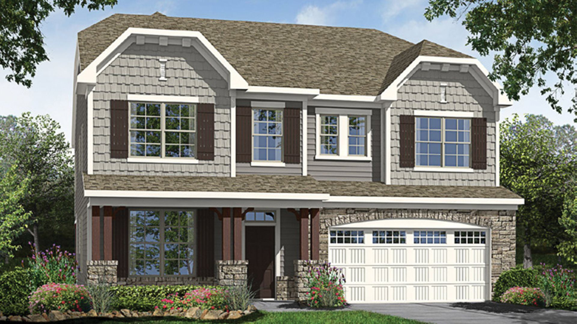 Exterior featured in the Galvani II By Lennar in Raleigh-Durham-Chapel Hill, NC