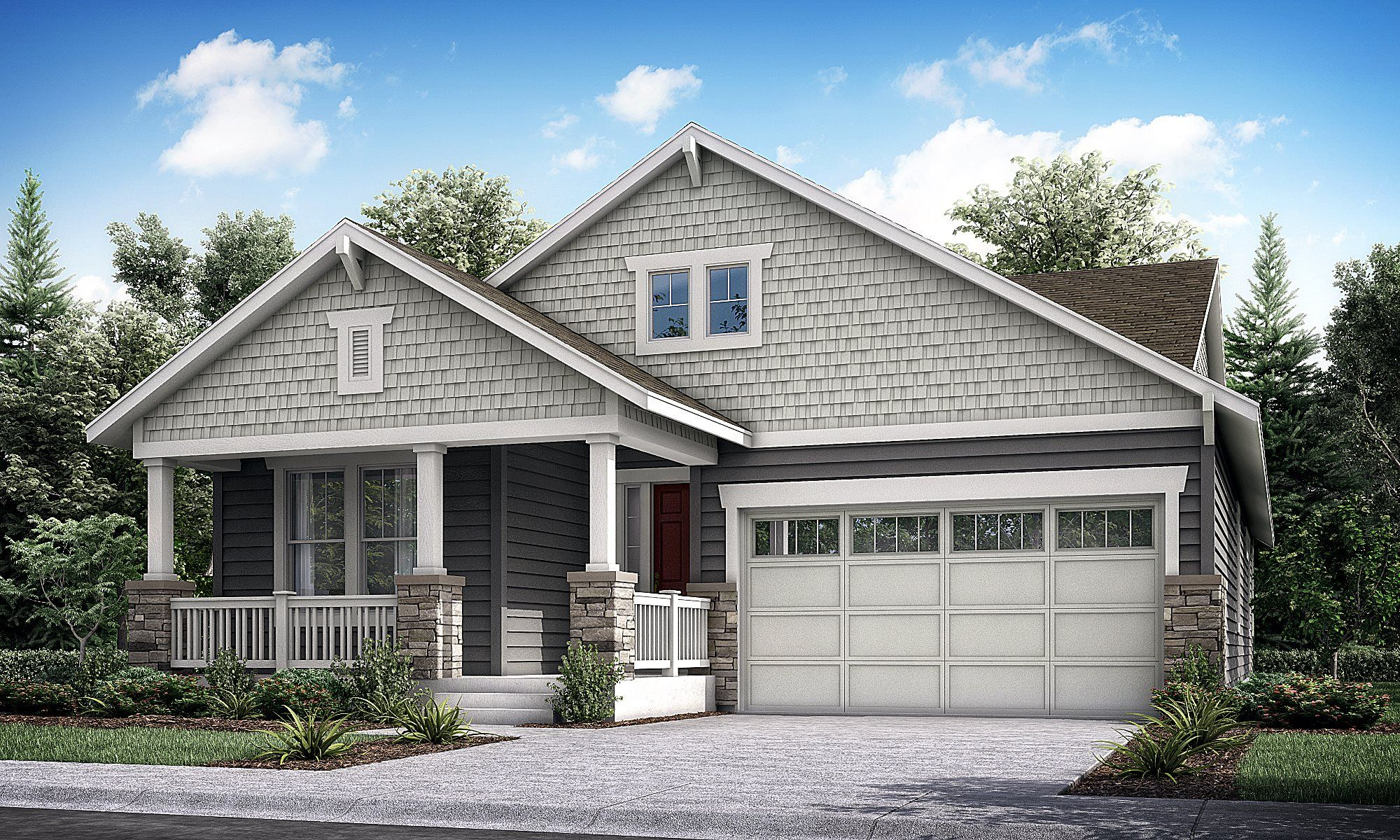 Exterior featured in the Kingsley By Lennar in Denver, CO