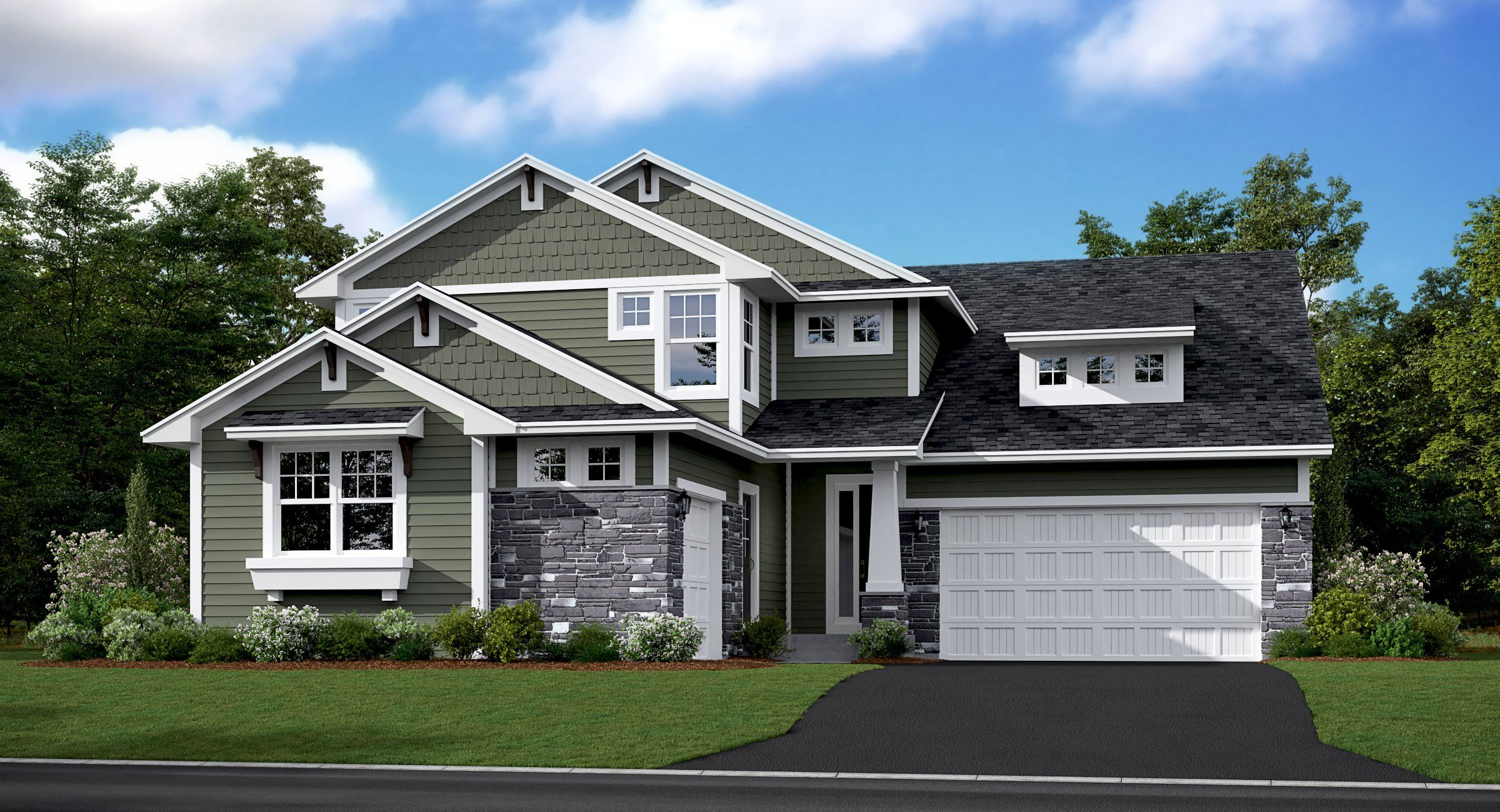 Exterior featured in the Independence EI By Lennar in Minneapolis-St. Paul, MN