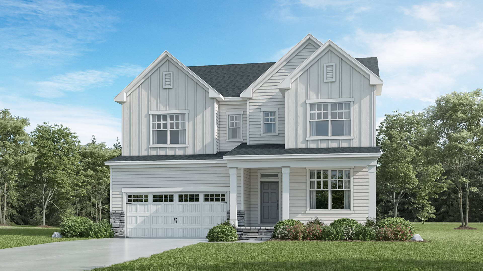 Exterior featured in the Eastman III By Lennar in Raleigh-Durham-Chapel Hill, NC