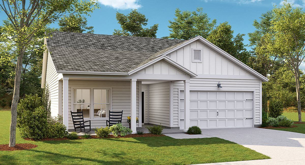Exterior featured in the BELHAVEN II By Lennar in Charleston, SC
