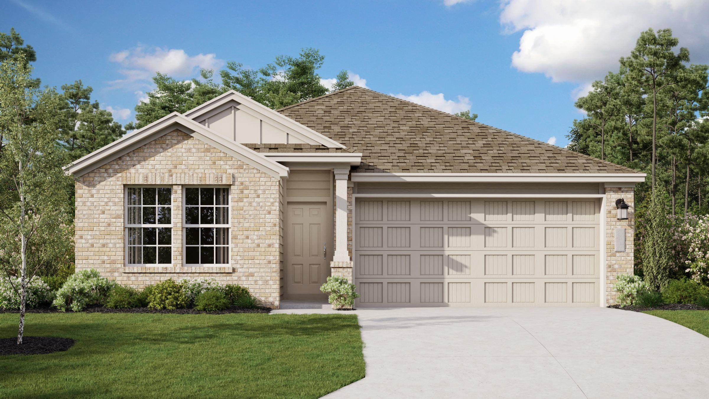 'Hidden Trails - Barrington Collection' by Lennar - San Antonio Homebuilding in San Antonio