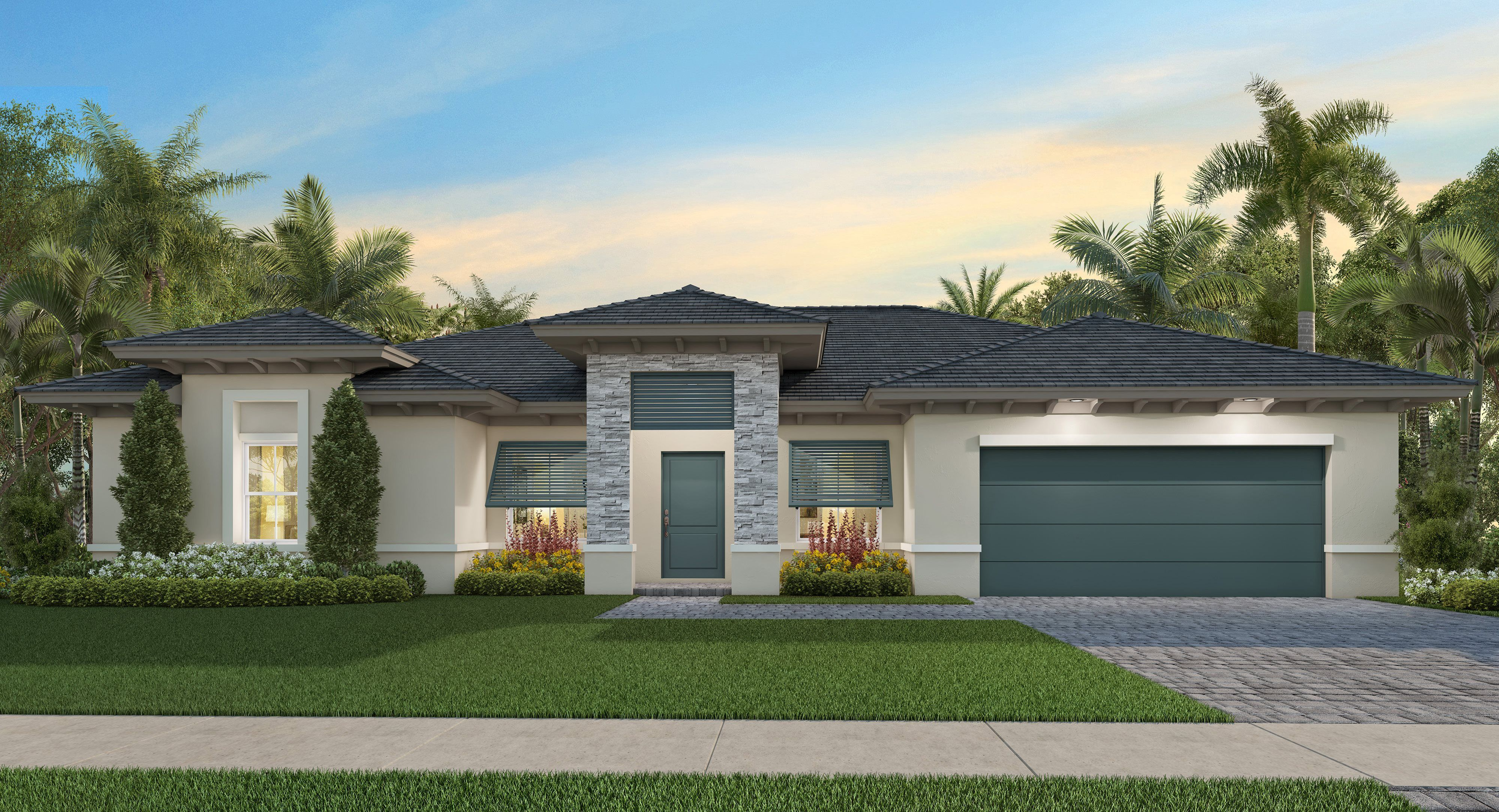Exterior featured in the Edlin By Lennar in Miami-Dade County, FL